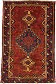 4' 2 x 6' 5 Shiraz Persian Rug thumbnail