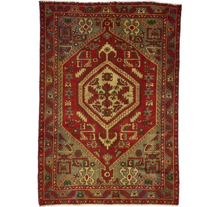 132cm x 193cm Zanjan Persian Rug
