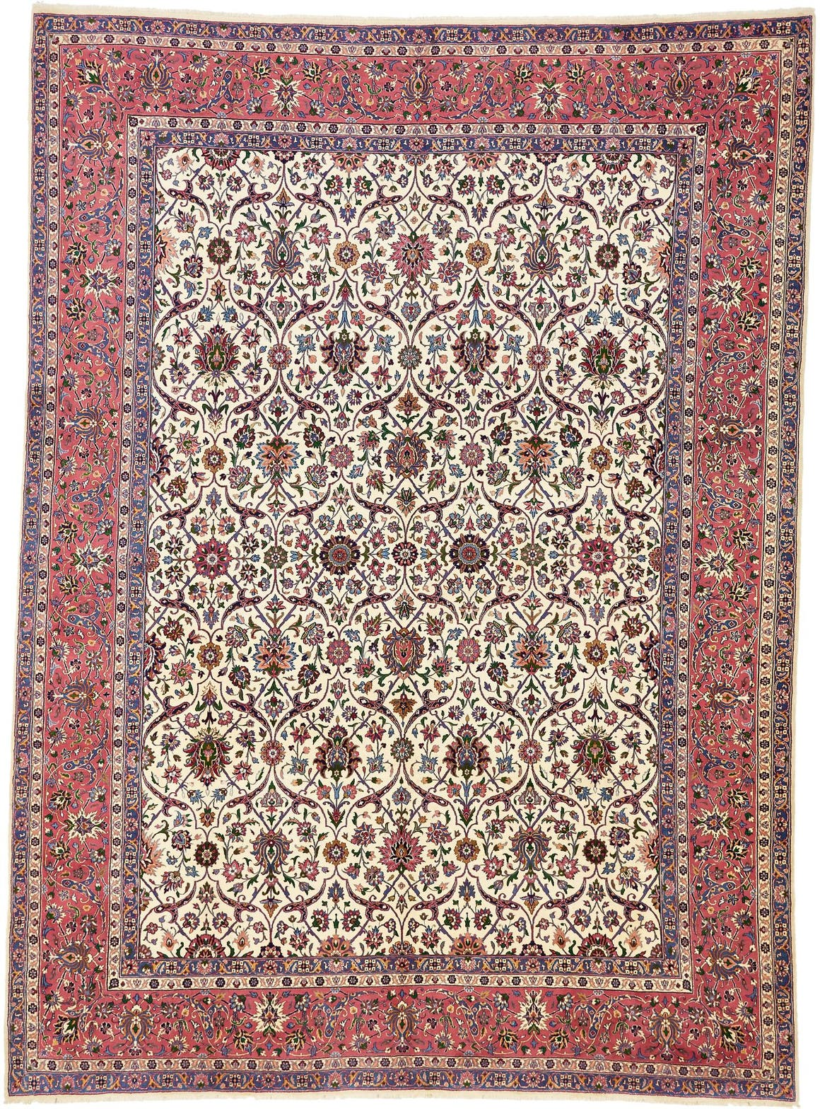 9' 6 x 12' 10 Kerman Persian Rug main image