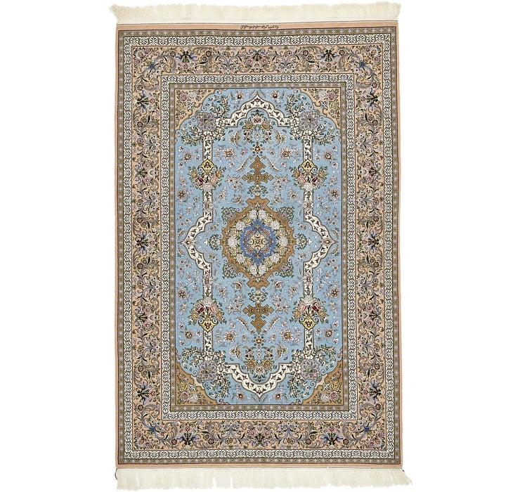 5' x 7' 7 Isfahan Persian Rug