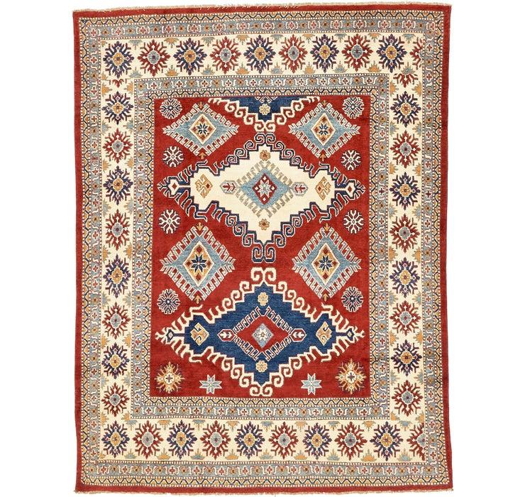 6' 7 x 8' 8 Kazak Oriental Rug