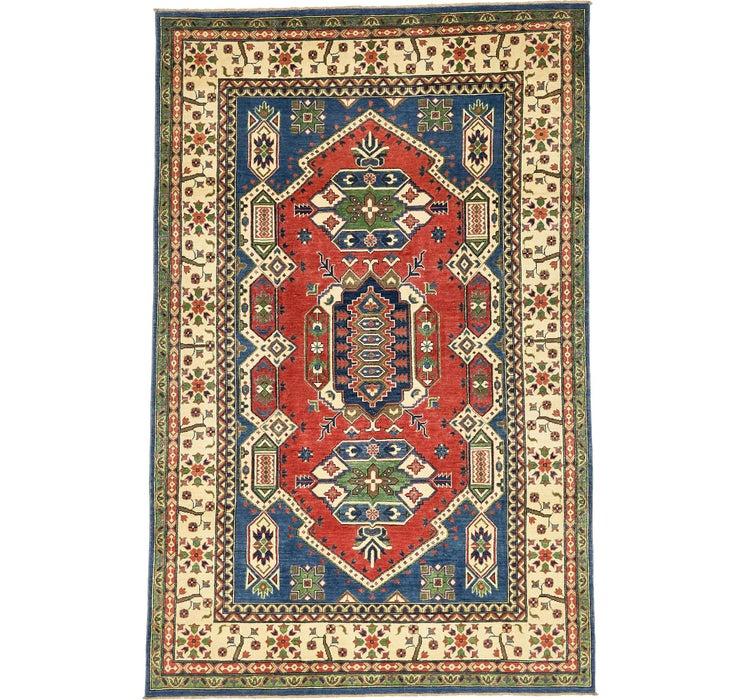 6' 5 x 9' 11 Kazak Oriental Rug