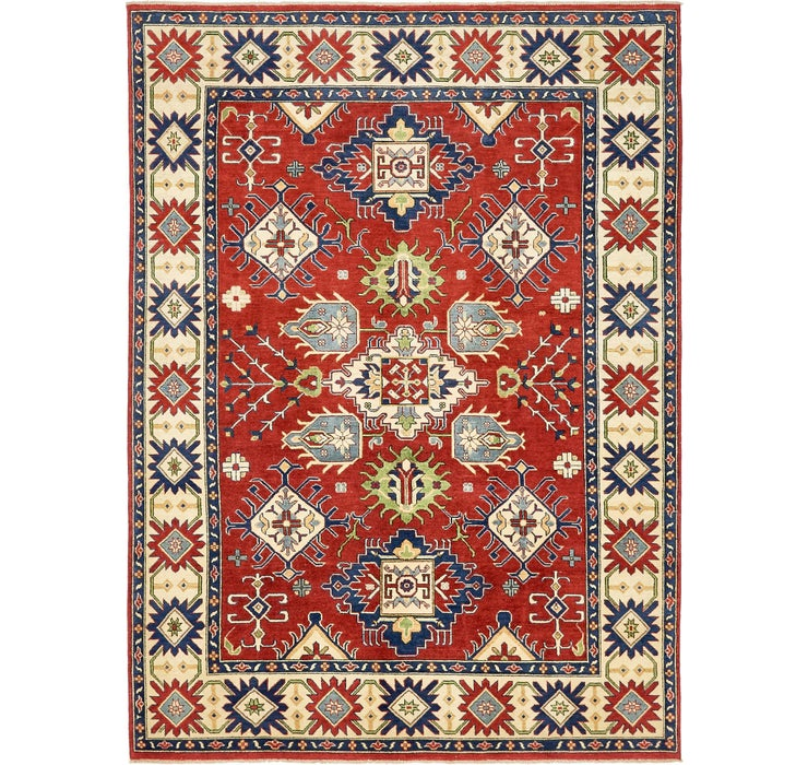 6' 11 x 9' 7 Kazak Oriental Rug