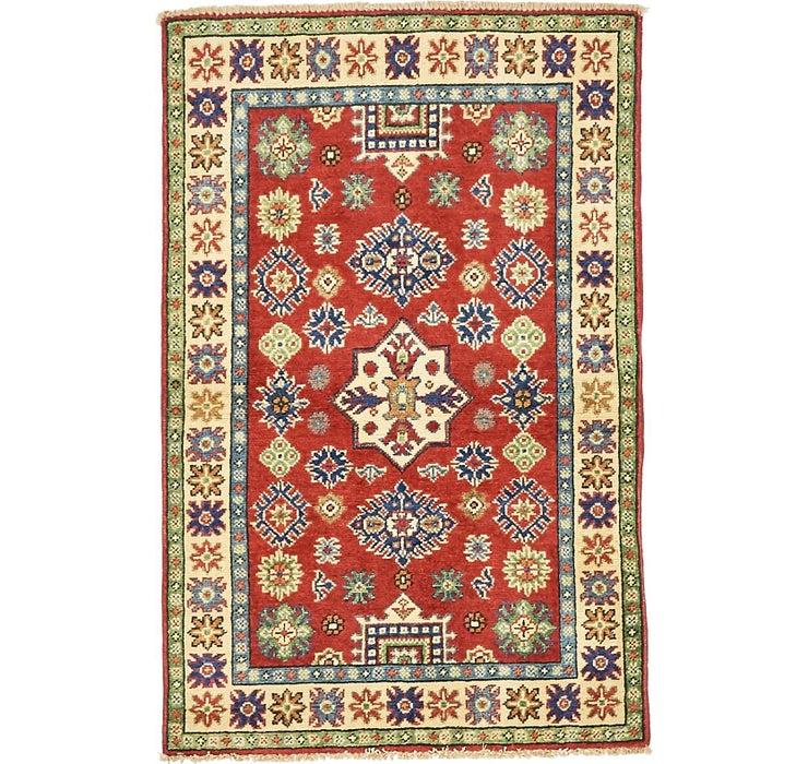 85cm x 132cm Kazak Oriental Rug