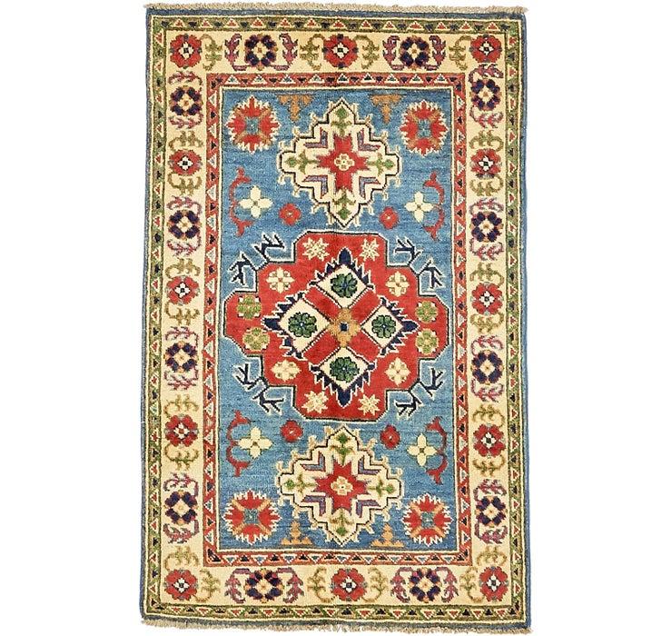 80cm x 125cm Kazak Oriental Rug