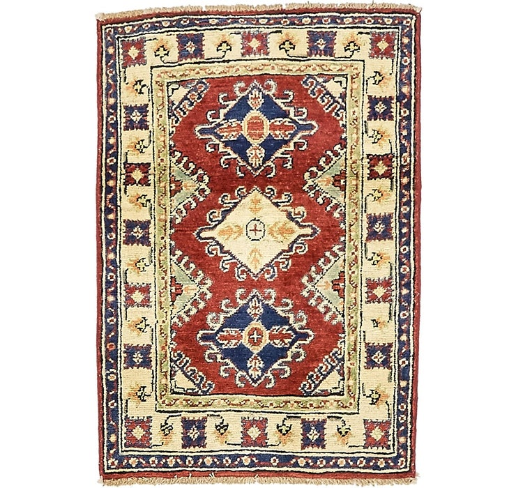 2' 1 x 3' Kazak Oriental Rug