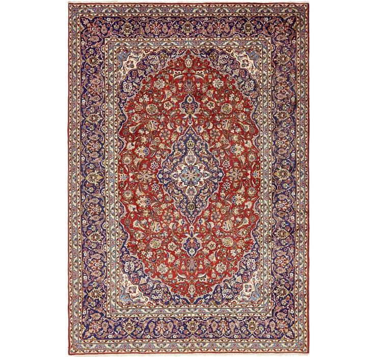282cm x 415cm Kashan Persian Rug
