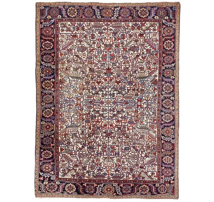 250cm x 335cm Heriz Persian Rug