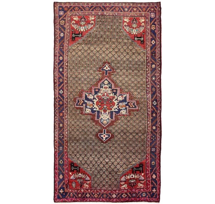 5' 3 x 10' Koliaei Persian Rug