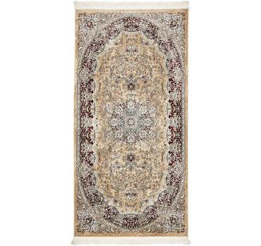 4' 4 x 8' 10 Isfahan Design Rug main image
