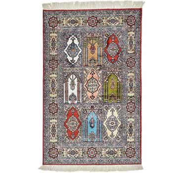 Image of 2' 6 x 4' Hereke Oriental Rug