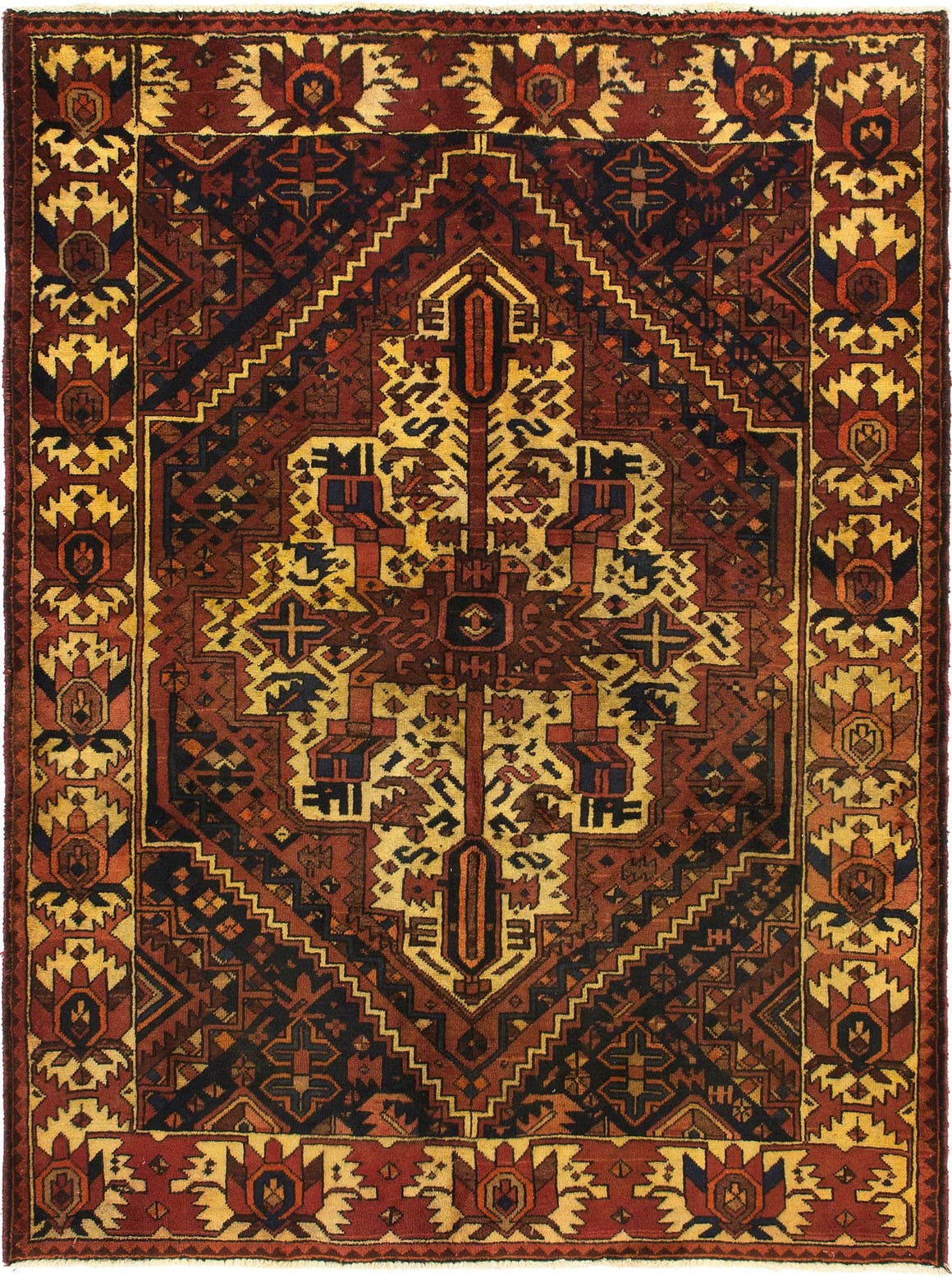 4' 2 x 6' 7 Bakhtiar Persian Rug main image