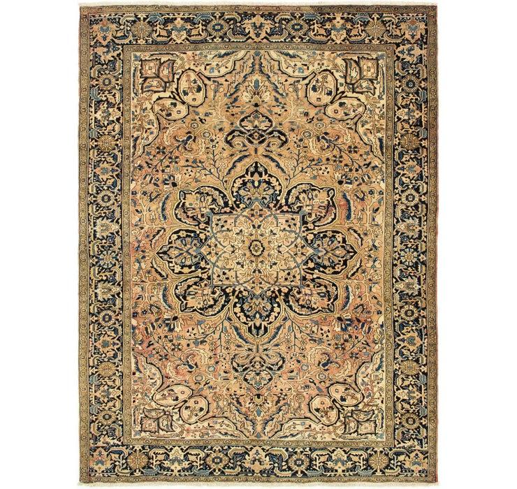 295cm x 395cm Heriz Persian Rug