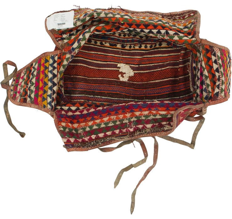 157cm x 215cm Saddle Bag Persian Rug