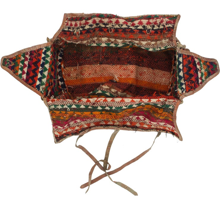 175cm x 225cm Saddle Bag Persian Rug