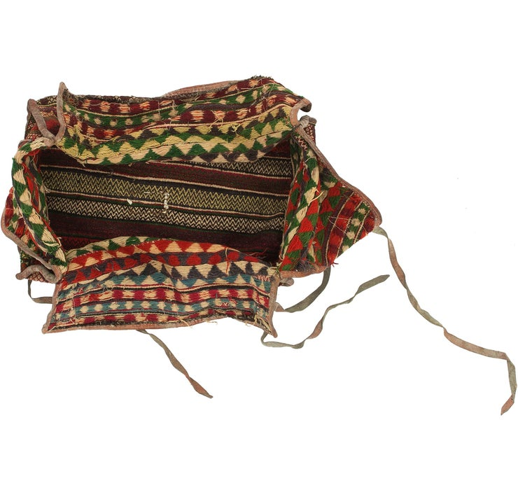 170cm x 225cm Saddle Bag Persian Rug