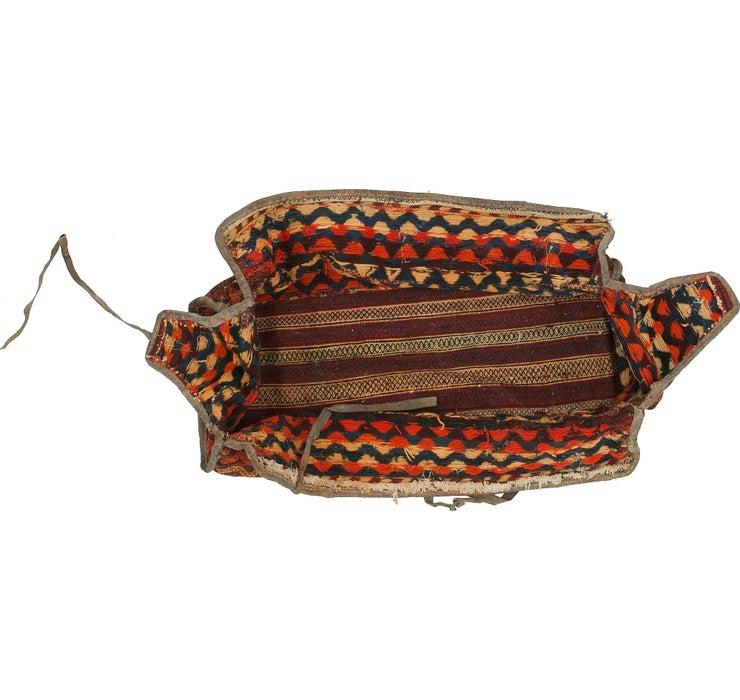 4' 2 x 7' 4 Saddle Bag Persian Rug