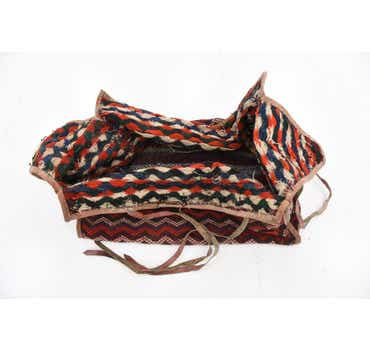 5' 7 x 7' 10 Saddle Bag Persian Rug