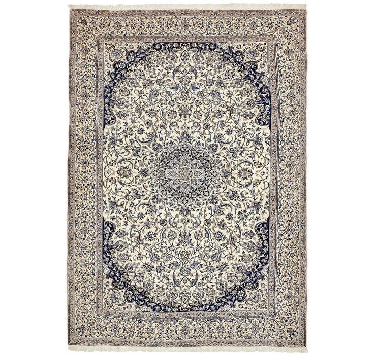 8' 9 x 12' 2 Nain Persian Rug