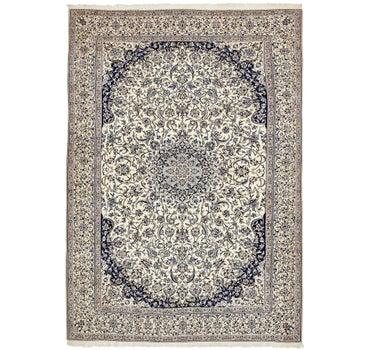8' 9 x 12' 2 Nain Persian Rug main image