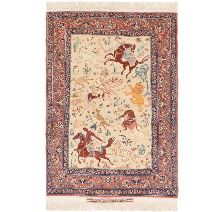 102cm x 160cm Isfahan Persian Rug