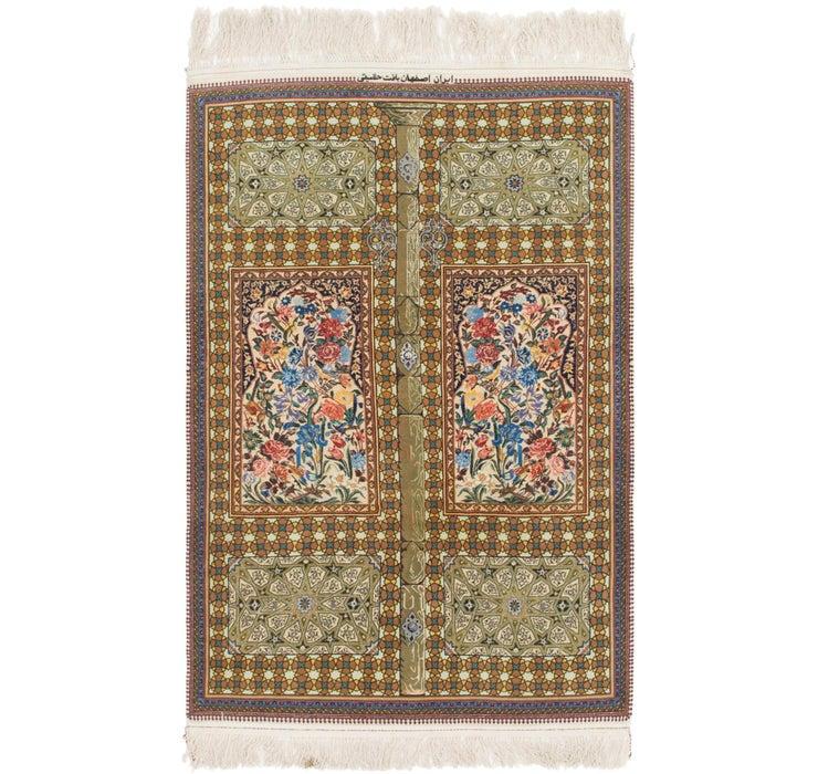 102cm x 157cm Isfahan Persian Rug