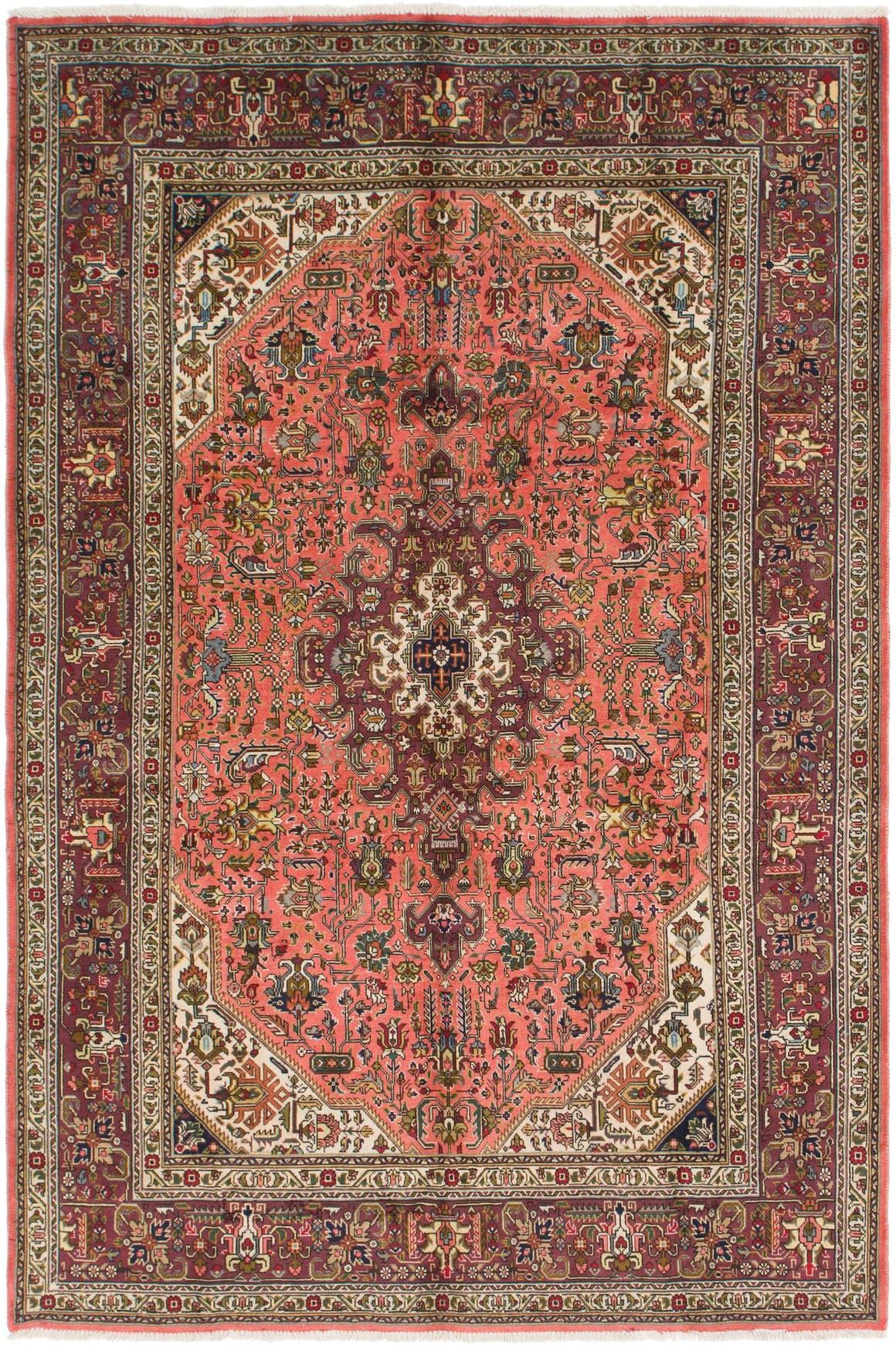 6' 8 x 10' 2 Tabriz Persian Rug main image