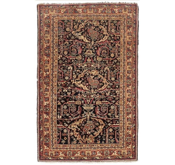 130cm x 198cm Hamedan Persian Rug