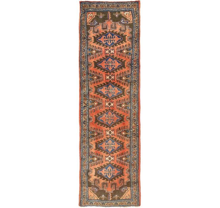 107cm x 345cm Viss Persian Runner Rug