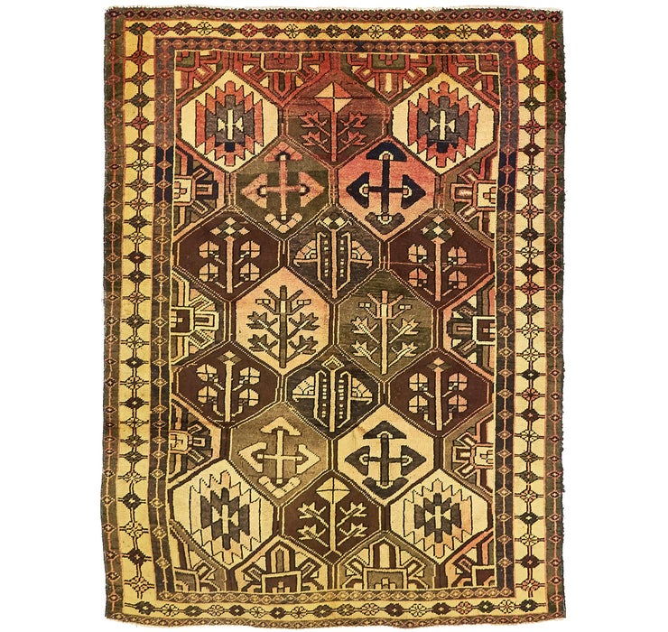 4' 9 x 6' 4 Bakhtiar Persian Rug