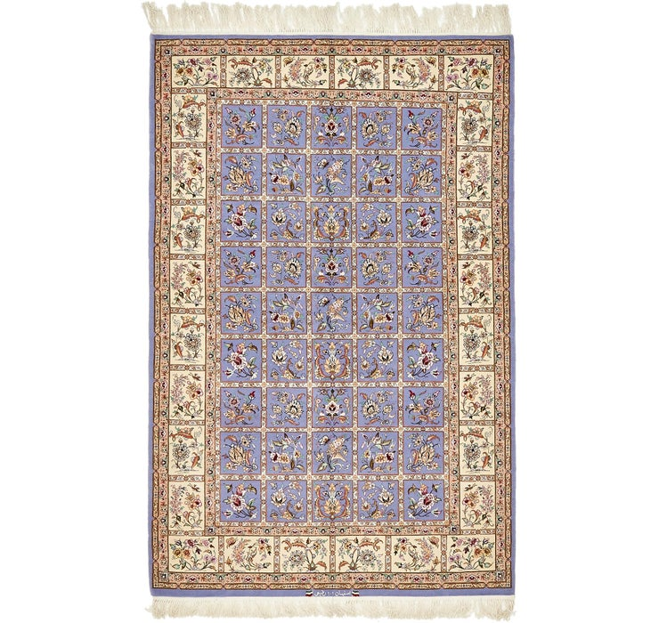 4' 3 x 6' 8 Isfahan Persian Rug
