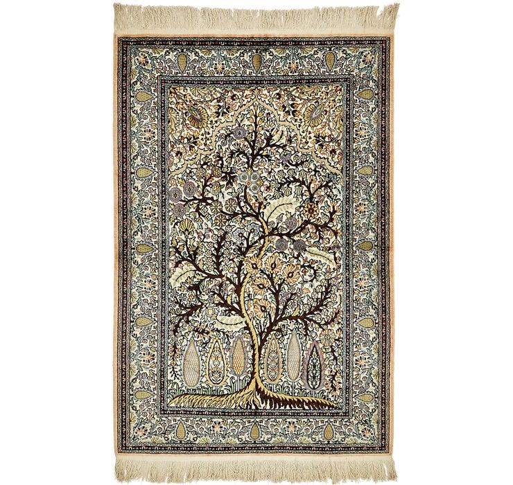4' 1 x 6' 4 Kashmir Oriental Rug