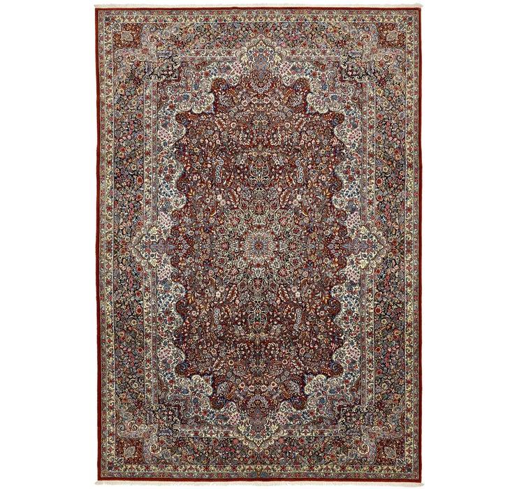 7' x 10' 4 Kerman Persian Rug