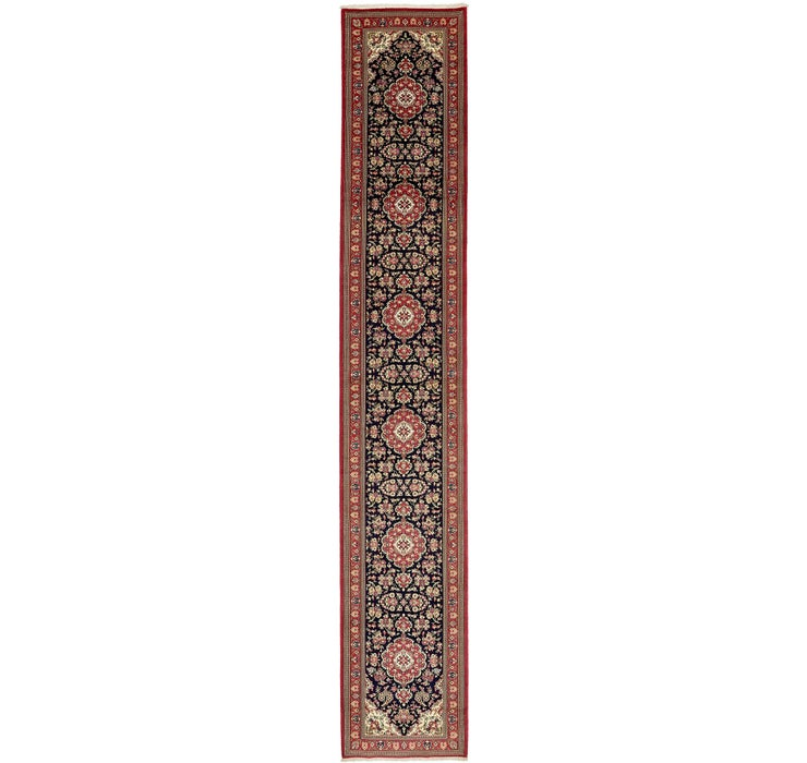 2' 7 x 16' 2 Qom Persian Rug
