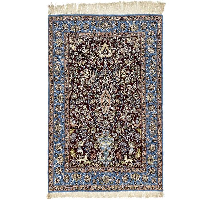 112cm x 168cm Isfahan Persian Rug