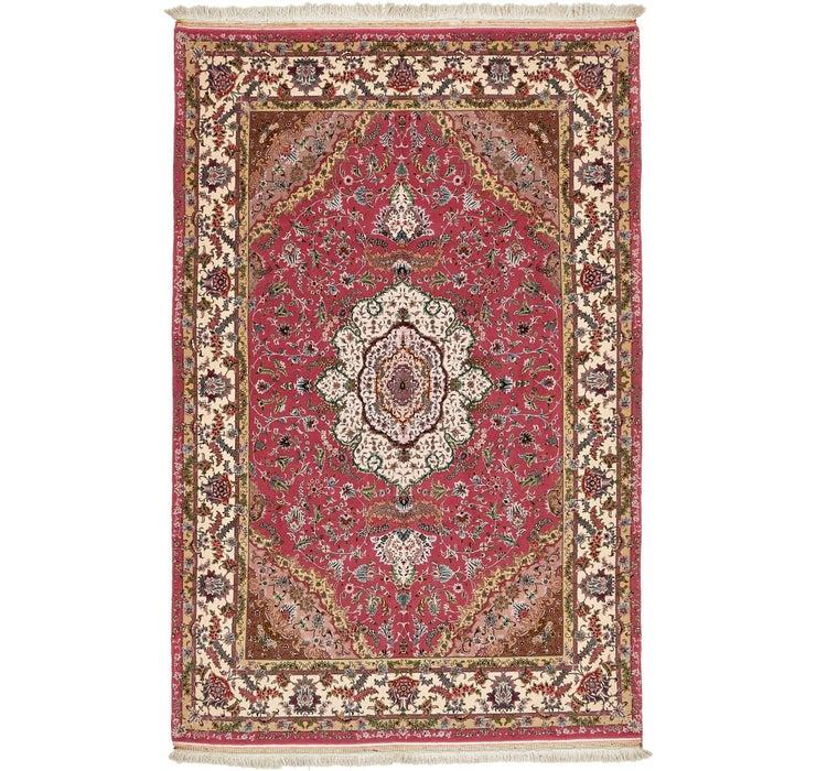 6' 5 x 10' 2 Tabriz Persian Rug