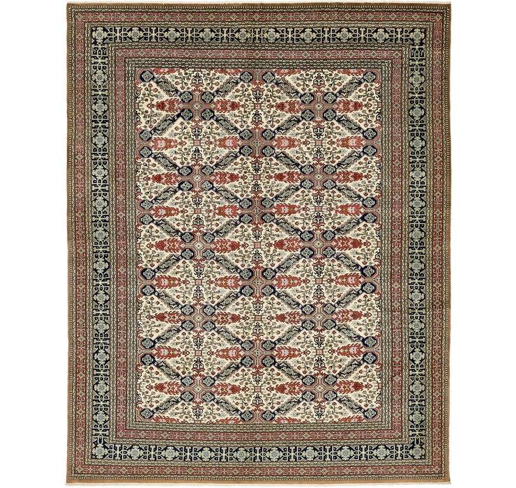 7' 8 x 9' 6 Tabriz Persian Rug