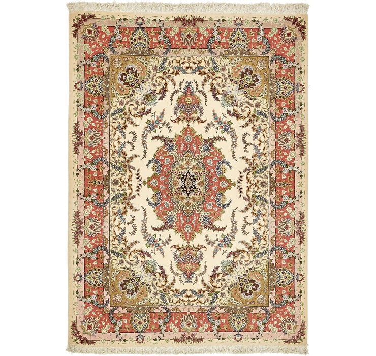 5' x 7' Tabriz Persian Rug