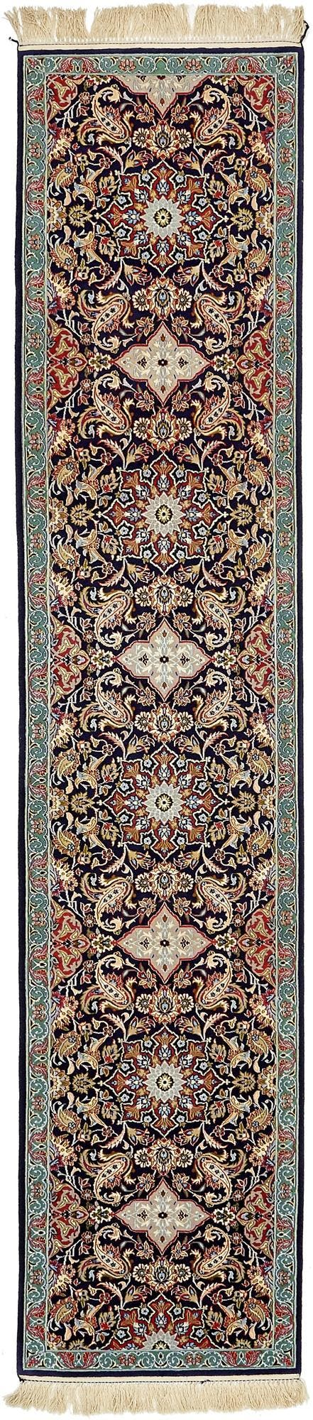 2' 1 x 10' Isfahan Persian Runner Rug main image