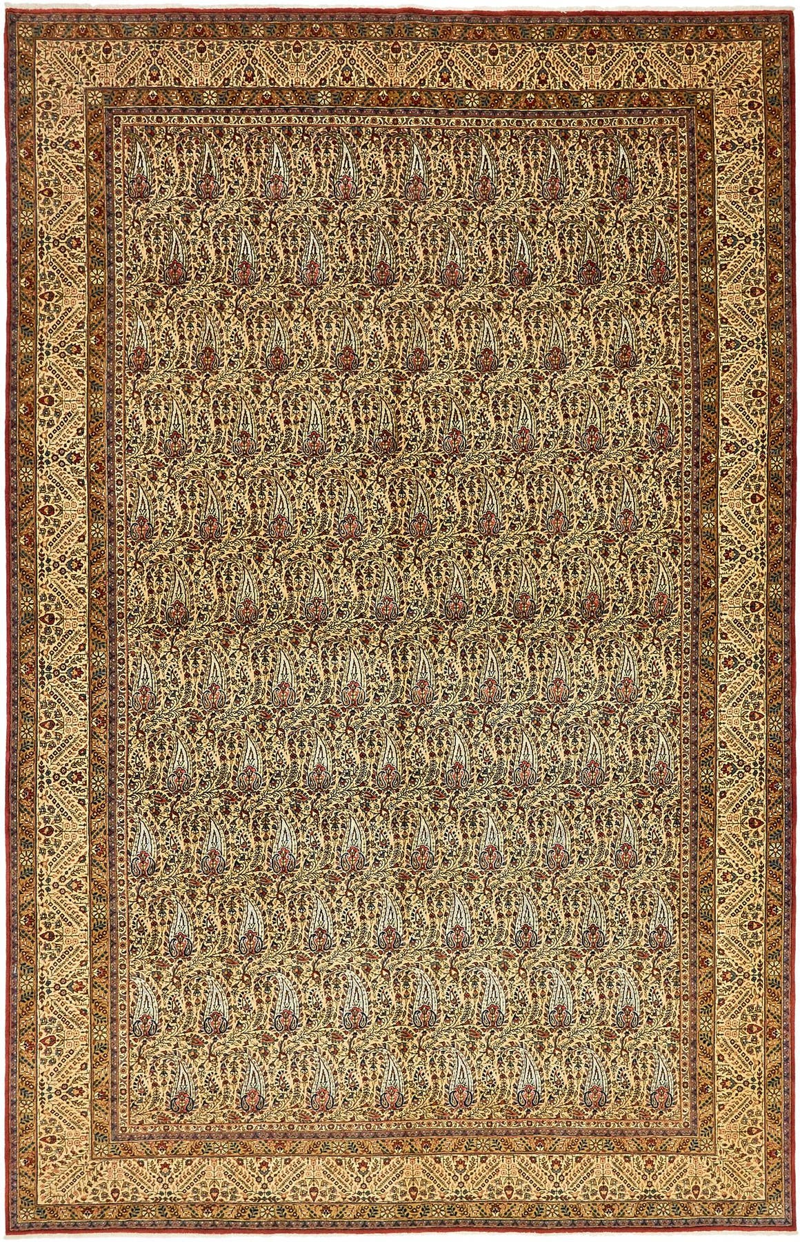 7' 7 x 11' 8 Qom Persian Rug main image