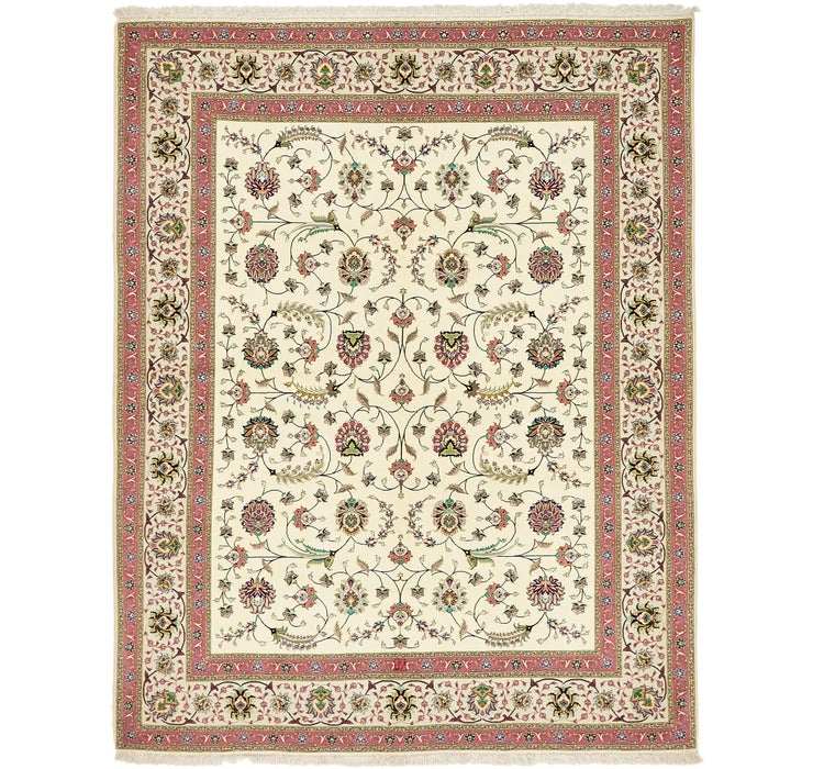 6' 7 x 8' 2 Tabriz Persian Rug