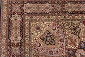 8' 2 x 8' 5 Tabriz Persian Square Rug thumbnail