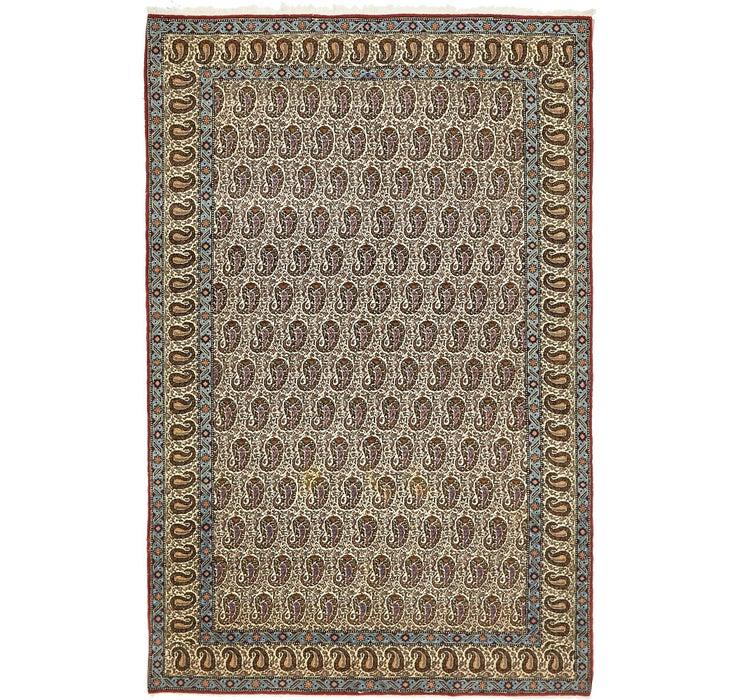 130cm x 213cm Qom Persian Rug