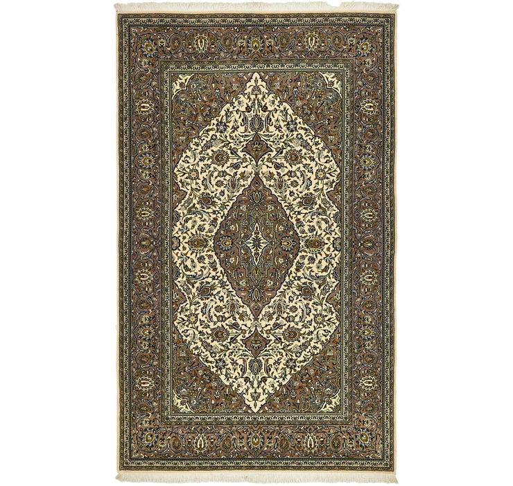 137cm x 225cm Kashan Persian Rug