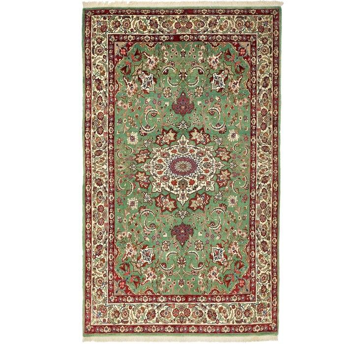 142cm x 230cm Qom Persian Rug
