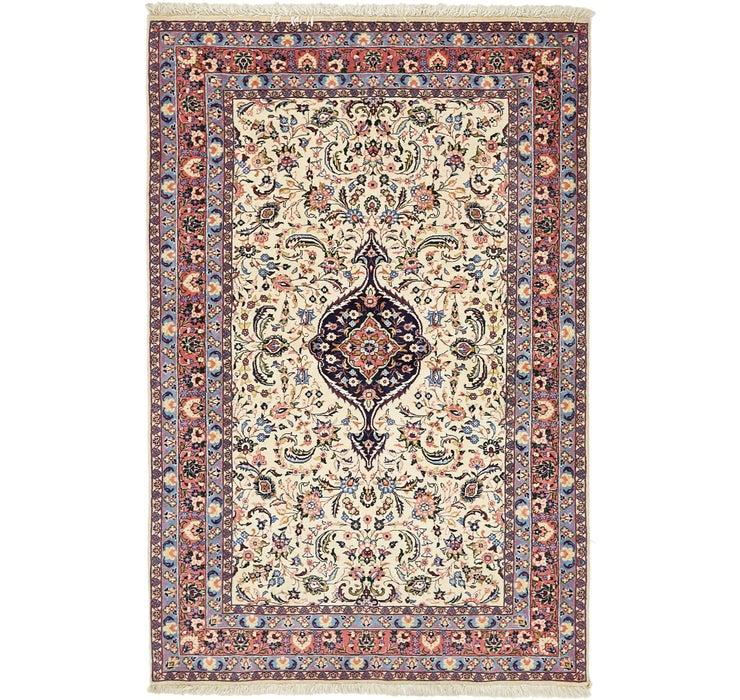 Image of 137cm x 208cm Yazd Persian Rug