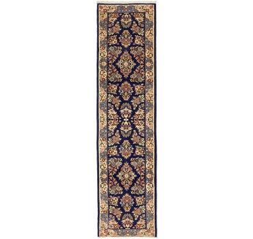 2' 5 x 9' 3 Sarough Persian Runner Rug main image