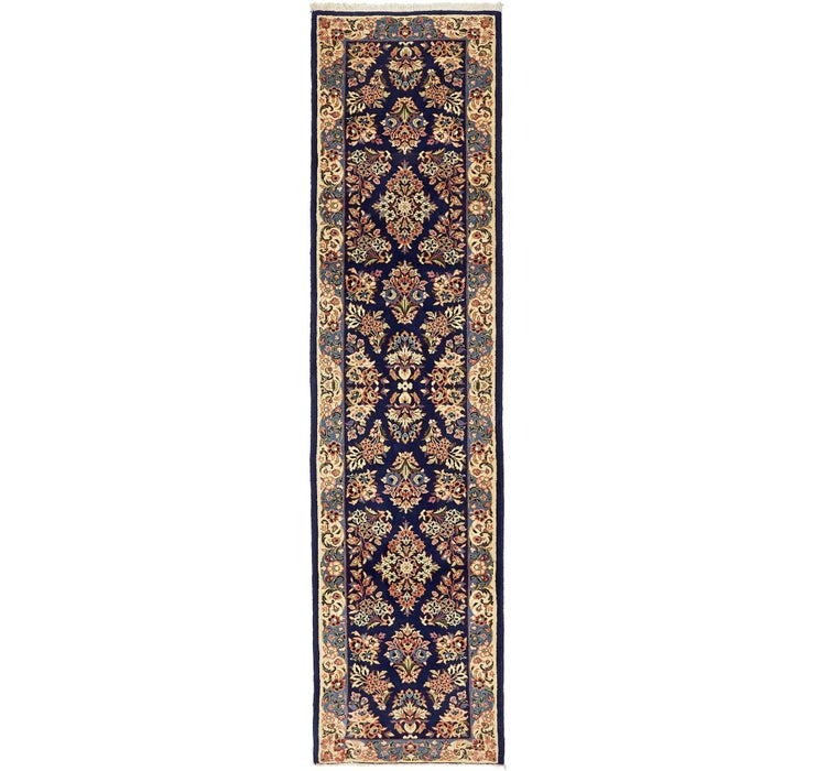 75cm x 282cm Sarough Persian Runner ...