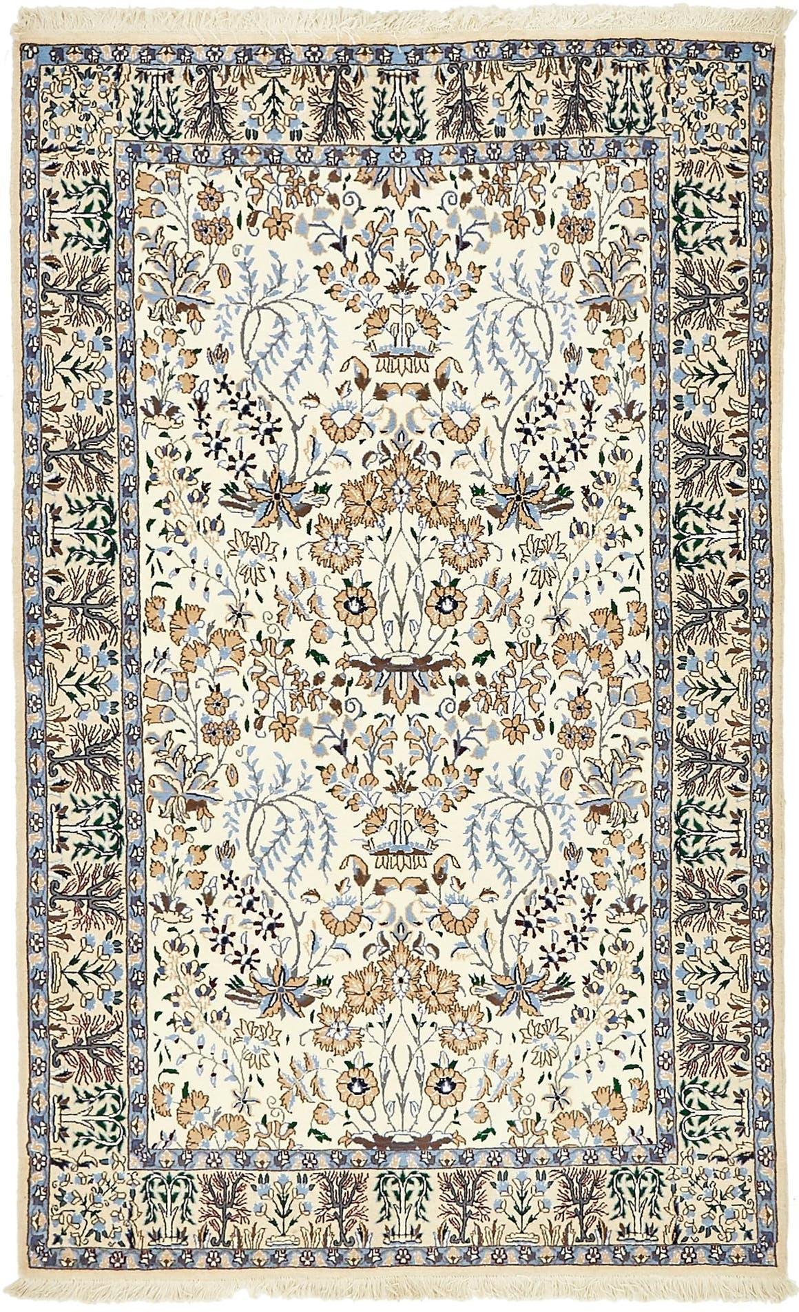 4' x 6' 5 Nain Persian Rug main image