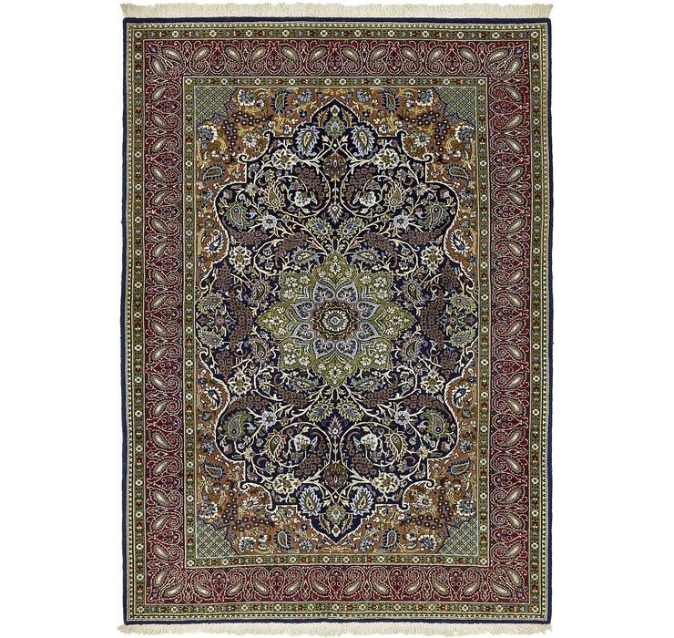 147cm x 205cm Qom Persian Rug